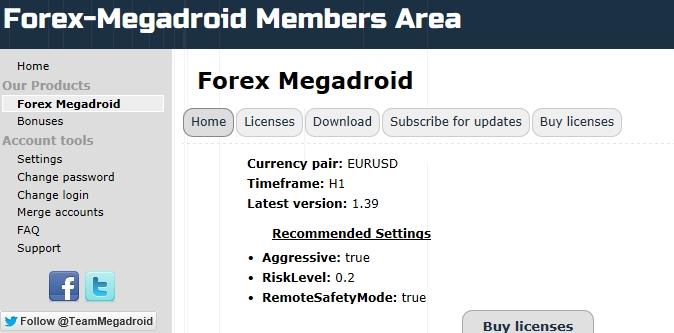 Forex megadroid ea download